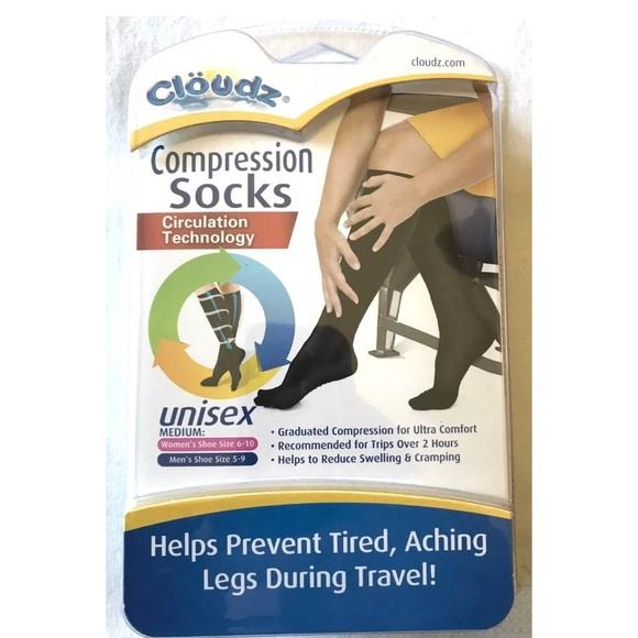 dfee3e8a57 Cloudz Accessories | Unisex Black Compression Socks | Poshmark